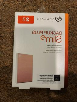 Seagate 2TB Backup Plus Slim Portable External Hard Drive US