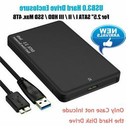 4TB USB 3.0 Portable External Hard Drive Ultra Box Slim SATA