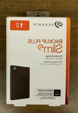 Seagate Backup Plus Slim Portable 1TB External STHN1000400 H