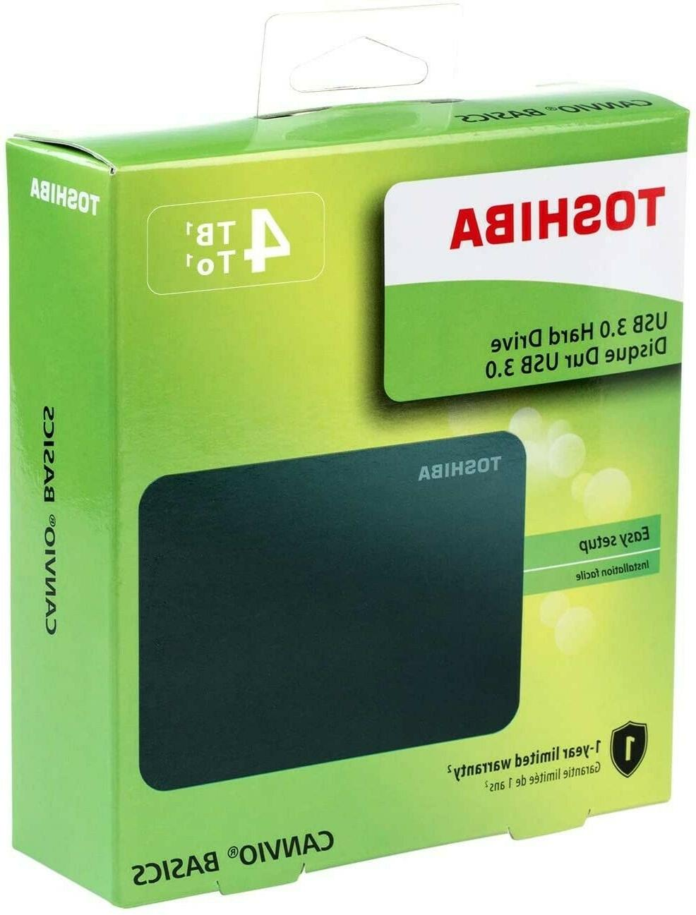 4TB Portable with Over Included! Just Play!!!