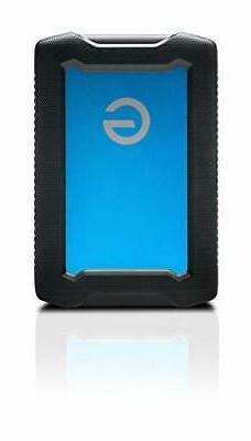 G-Technology 4TB ArmorATD All-Terrain Portable Hard Drive -