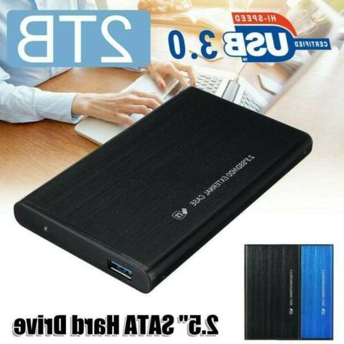 Portable USB 3.0 1TB External Drive Disk Ultra Slim For PC