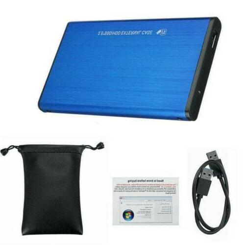 "Portable USB 1TB 2.5"" Hard Drive Disk For PC Laptop"