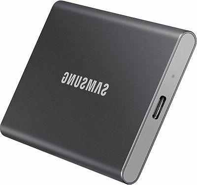 Samsung - T7 2TB External USB Gen 2 Portable State Drive with