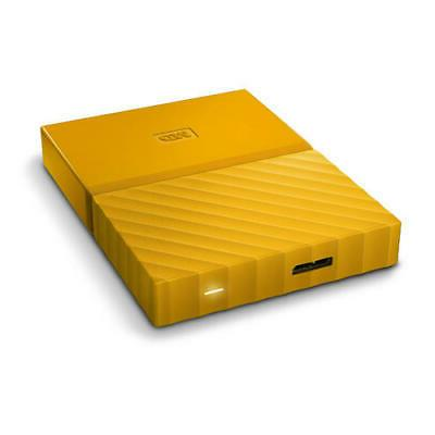 WD My Passport Yellow Portable Hard Drive by Western year limit...