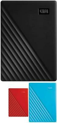 WD My Passport Portable External Hard Drive Choose From 1TB