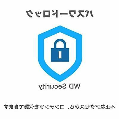WD HDD 2TB USB3.0 protection Japan