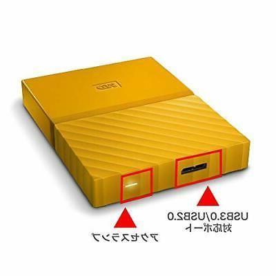 WD HDD 2TB USB3.0 encryption protection 3...