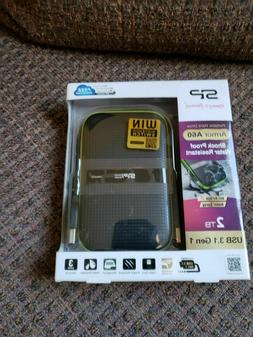 2TB Silicon Power Armor A60 Shockproof Rugged Portable Hard