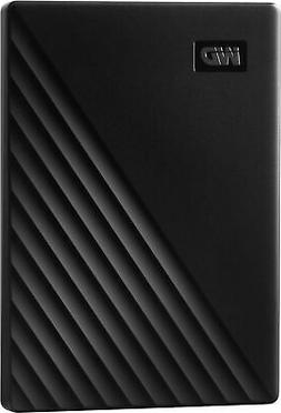 WD 2TB My Passport Portable External Hard Drive, Black - WDB