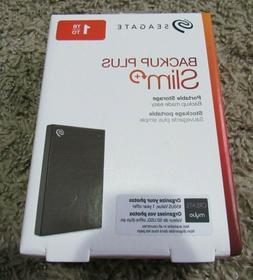 NEW Seagate Backup Plus Slim Portable 1TB External STHN10004