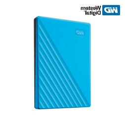 New WD 2TB My Passport Portable External Hard Drive USB 3.2