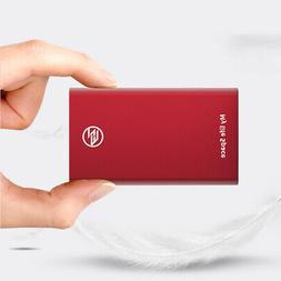 Portable 256GB External Solid State SSD Type-C USB 3.1 SSD H