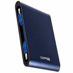 "Silicon Power Rugged Armor A80 1TB 2.5"" Blue Military Grade"