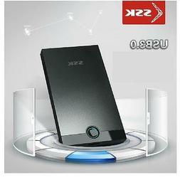 "SSK SHE085 Portable USB 3.0 2.5"" SATA HDD SDD Mini Hard Driv"