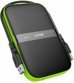 Silicon Power 1TB Black Rugged Portable External Hard Drive