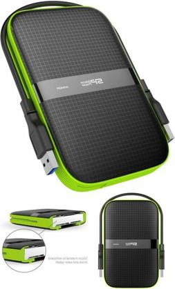Silicon Power 4Tb Rugged Portable External Hard Drive Armor