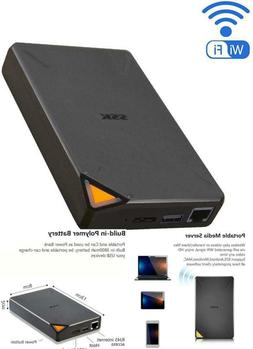 SSK 2TB Portable NAS External Wireless Hard Drive with Own W