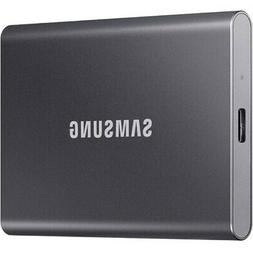 Samsung - T7 1TB External USB 3.2 Gen 2 Portable Solid State