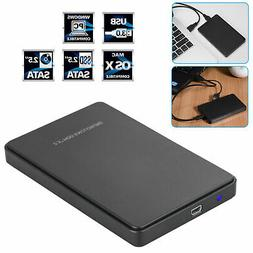 USB 3.0 2TB SATA SSD External Hard Drive Portable Desktop Mo