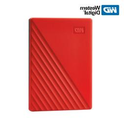WD 1TB 2TB 4TB 5TB My Passport Portable External Hard Drive