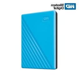 WD NEW 2TB 4TB My Passport Portable External Hard Drive BLUE