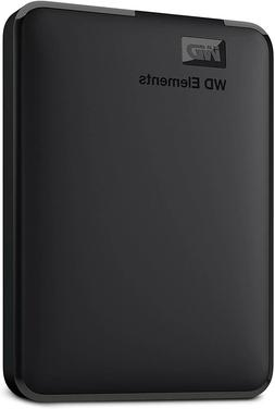 WD 1TB Elements Portable External Hard Drive - USB 3.0 - WDB